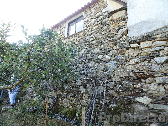 Stone building partially converted in Pampilhosa