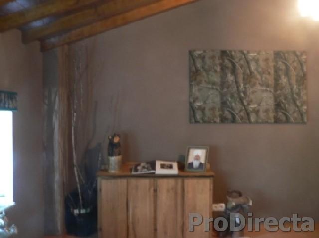 Living Room - Custom Designed and Built Cabinet of Aged Oak