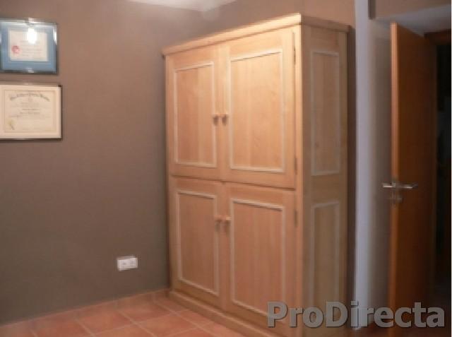 Office – Custom Designed and Built Large Storage Cabinet of Chestnut